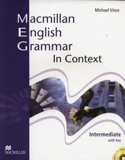 Macmillan English Grammar in Context Intermediate with key + CD, Vince Michael