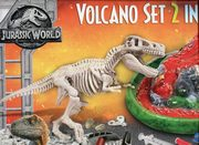 ksiazka tytuł: Volcano Set 2 in 1 Volcano&Trex Skeletonto Dig Kit Jurassic World autor: